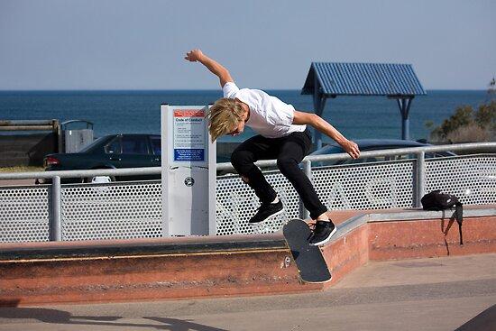Backside Kickflip - Empire Park Skate Park by reflector