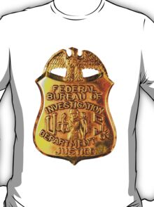 FBI badge T-Shirt