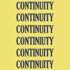 Tee: CONTINUITY by Panthouse