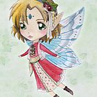 Watercolour Fairy by SprawlingPuppy