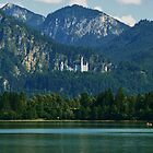 Forggensee, Castle view by Janone