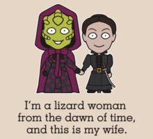 Madame Vastra and Jenny (shirt) by redscharlach