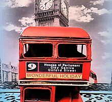London Routemaster & Big Ben by ©The Creative  Minds