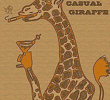 The Casual Giraffe by Bigups