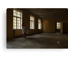 In the abandoned asylum Canvas Print
