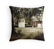 A View From The Shadows Throw Pillow