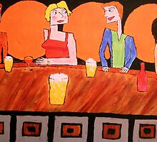 Jealousy at the Bar by George Hunter