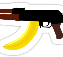 Banana Mag Sticker