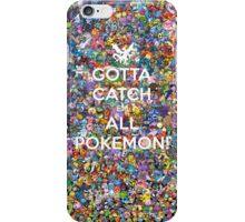 Cotta Catch 'em All 2 iPhone Case/Skin