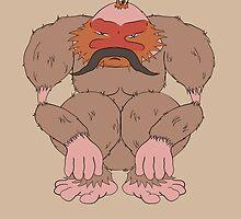 Pangu The Moustachioed by KaisCanvas