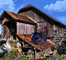 *´¯`♥ღTURKEYS WORKING DOWN NEAR THE BARN BABY TURKEYS PLAYING*´¯`♥ღ by ✿✿ Bonita ✿✿ ђєℓℓσ