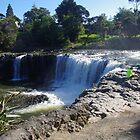 Haruru Falls, New Zealand by lezvee
