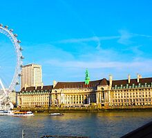 London Eye by Rachel Meyer