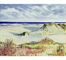 Sketching the Dunes Photographic Print