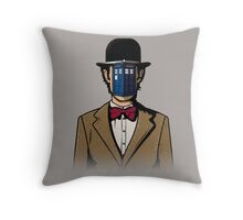 Doctor Magritte Throw Pillow