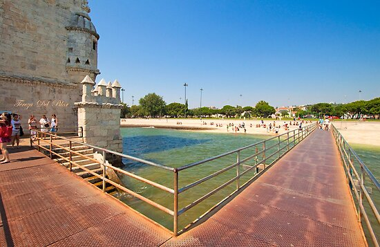 bridge access to the tower by terezadelpilar~ art & architecture