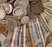 Old Ecuadorian Money by rhamm