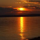 Slave Lake Sunset by Kathi Arnell