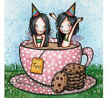 Fairy Tea Party Photographic Print