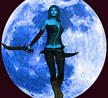 BLUE MOON WARRIOR by Icarusismart