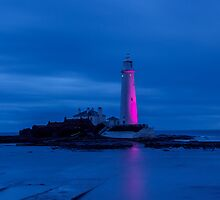 St Marys in the Blue Hour by Harry Purves