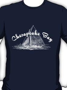 Chesapeake Bay Sailboat T-Shirt