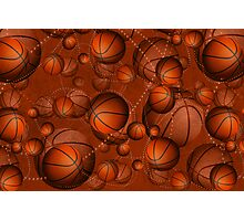 Basketballs! Photographic Print
