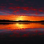Red and Blue dawn by Alex Call