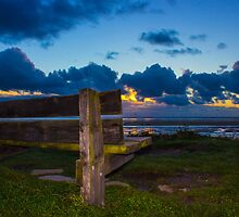 A bench with a view by Paul Madden