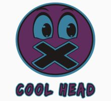 Cool Head Purple And Teal by lonelycreations