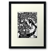 Jungle Love Framed Print