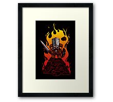 Dragon Crasher Framed Print