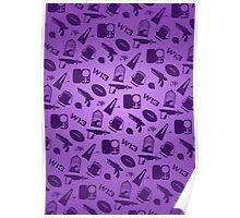 Warehouse 13 Case (Purple) Poster