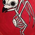 Cute owl Skeleton by Stolensouljess