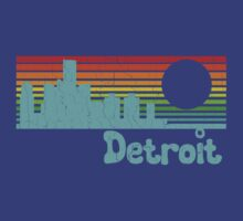 80's Retro Detroit (Distressed Design) by robotface