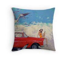 Bang Soda and more birds than you can poke a stick at. Throw Pillow