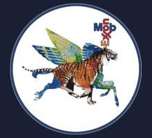 Exxon Mobile Hybrid Tiger Pegasus by O O