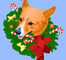 Merry Corgi Christmas by SpiralArtistry
