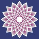 Lotus mandala t-shirt by Andrei Verner
