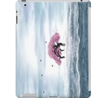 Fantasy landscape in blue and gray colors iPad Case/Skin