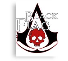 *NEW* ASSASSINS CREED, BLACK FLAG! EMBLEM AND SKULL. Canvas Print