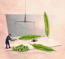 The pea gauger by Yann Pendaries