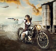 The Steampunk Warrior  by PavanKrushik