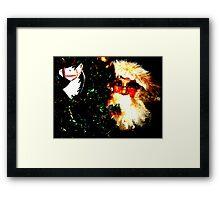 Zat You, Santa Claus? Framed Print