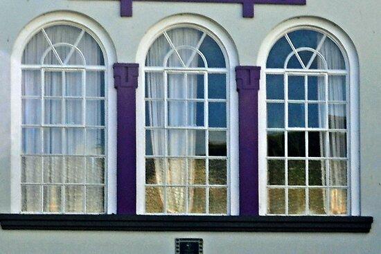 Three Windows by lynn carter
