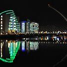 Samuel beckett bridge by Declan Carr