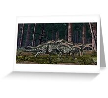 Monolophosaurus Greeting Card