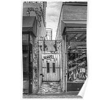Eclectic Alley Door Poster