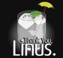 Thank You Linus shirt by Matt Teleha