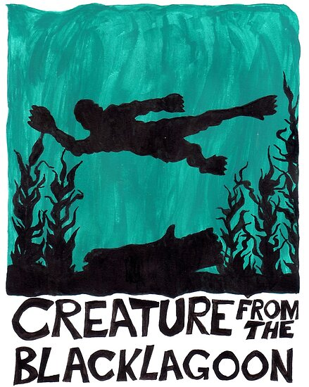 Creature from the Black Lagoon by CalciferBoheme